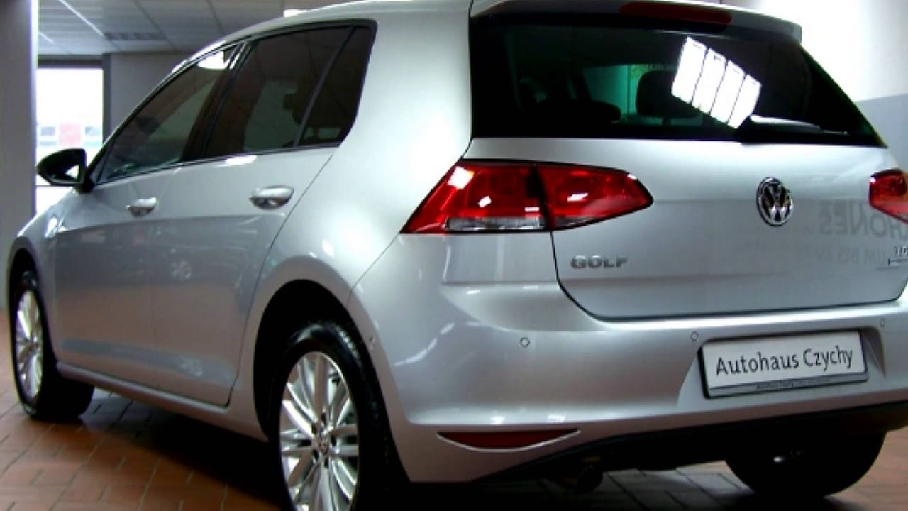 volkswagen golf 1 6 tdi cup comfortline ew186496 reflexsilber autohaus czychy youtube. Black Bedroom Furniture Sets. Home Design Ideas