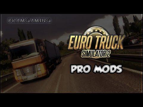 Dutch - Euro Truck Simulator 2 Pro Mods Map Aflevering 22 - ESTONIA!