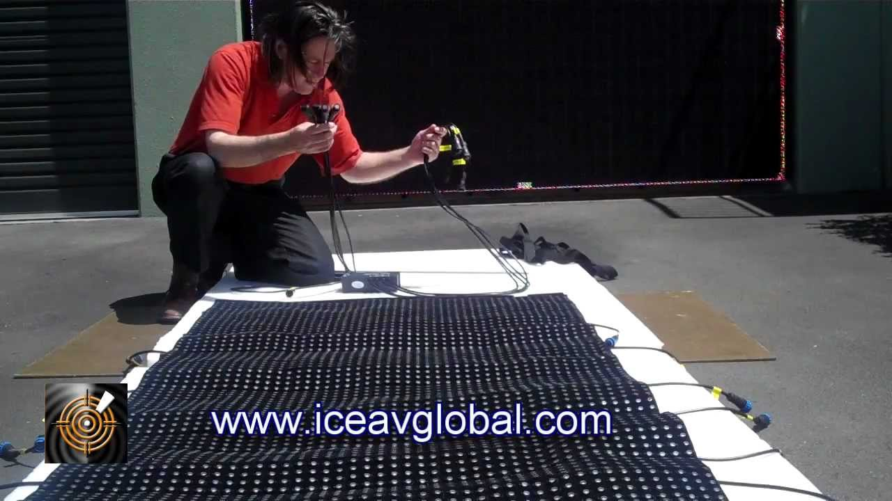 Ice Hang Roll Fold Led Screen Panels Sales Iceavglobal Com