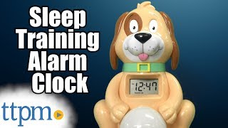 Sleep Training Alarm Clock from Big Red Rooster