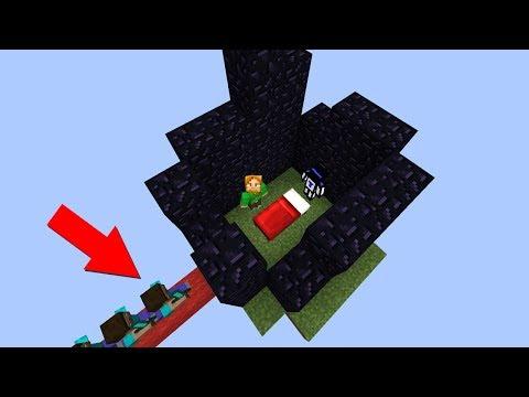 ЗАКРЫЛИ КРОВАТЬ ВРАГАМ, А ОНИ ПРИШЛИ И... - Minecraft Bed Wars