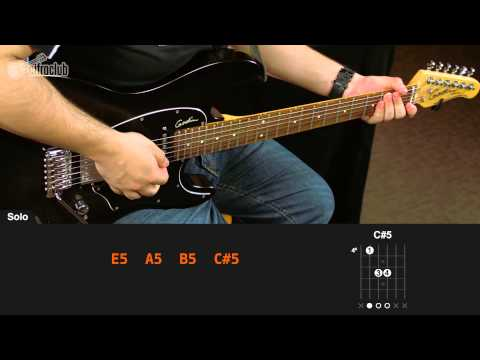 The Final Countdown - Europe (aula de guitarra)