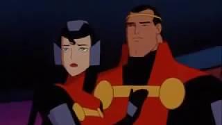 Superman TAS Krypton destroyed