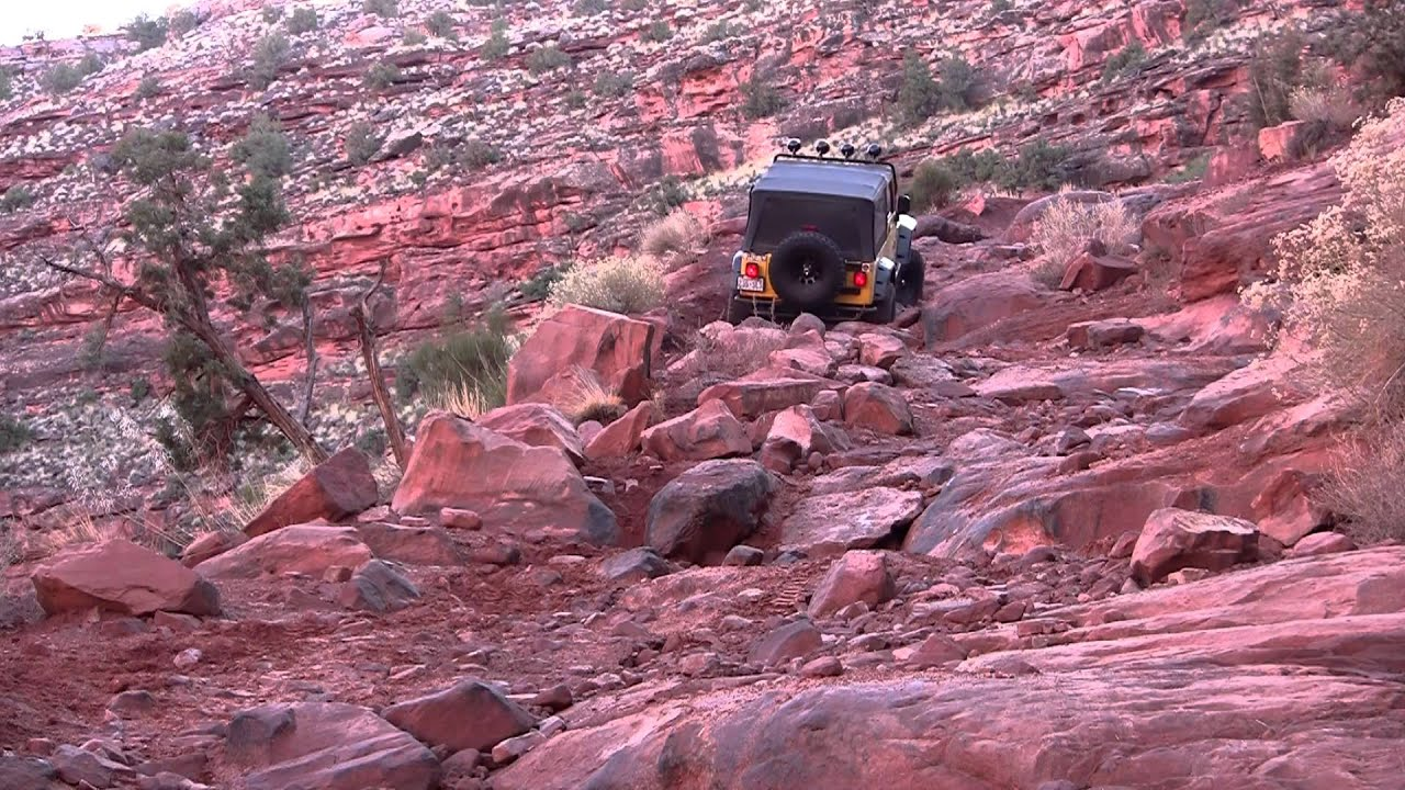 Most Difficult Section Of Kane Creek Canyon Moab Utah