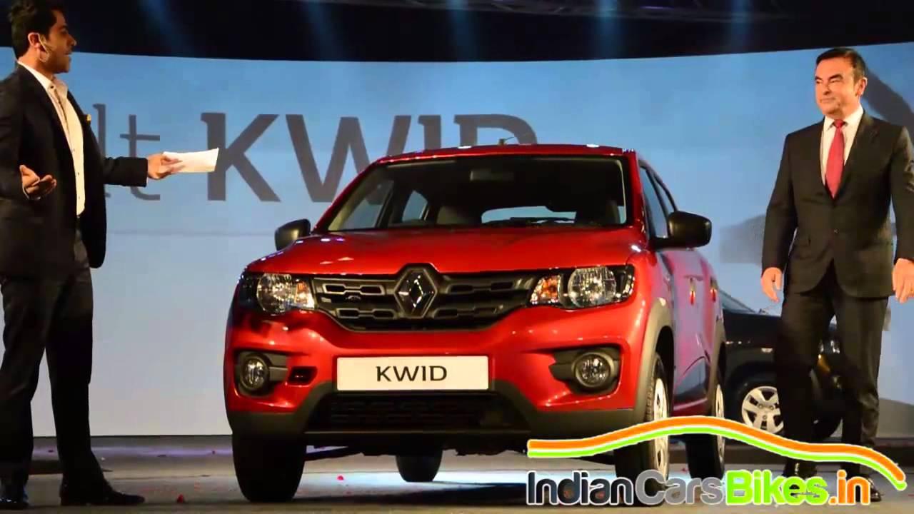 2016 Renault Kwid Global Unveil in India By Carlos Ghosn ...
