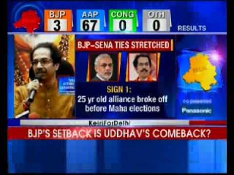 Uddhav Thackeray hails AAP win, targets Modi