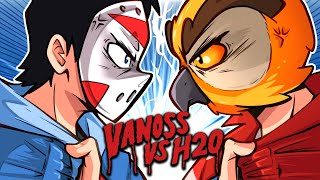 VANOSS VS H2O DELIRIOUS (GTA 5, GMOD, TABS funny moments) New Merch!