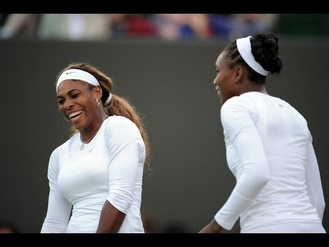 VENUS and SERENA WILLIAMS WIMBLEDON 2014 DOUBLES