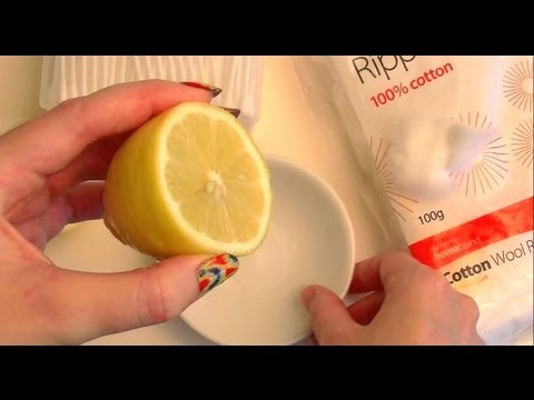 NATURALLY FADE ACNE SCARS with LEMON! How To Use Lemon For Scarring & Dark Spots