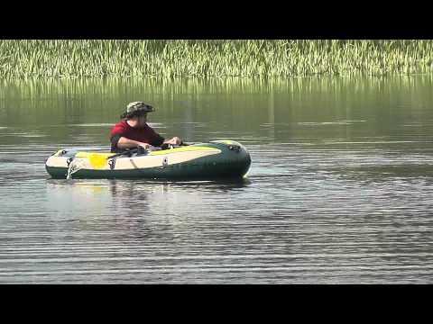 лодка фишман 350 видео