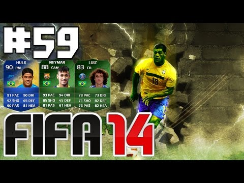 Fifa 14 Ultimate Team #59 Tadinho Do Hulk & Neymar iMOTM ! C/Facecam