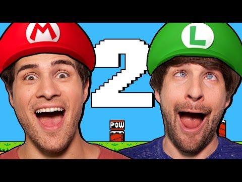 We're In Super Mario Bros 2! video
