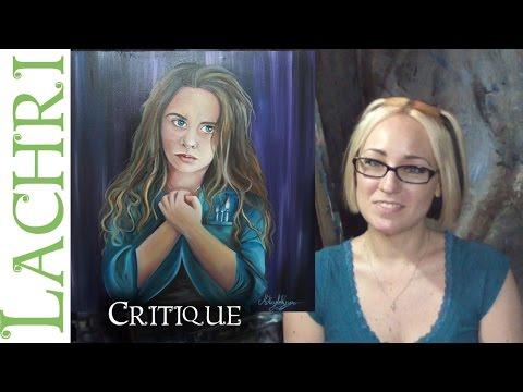 Critique your painting series - art tips w/ Lachri - oil portrait