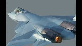 The Shape of Air Supremacy - Sukhoi PAK FA & Version for India HAL FGFA