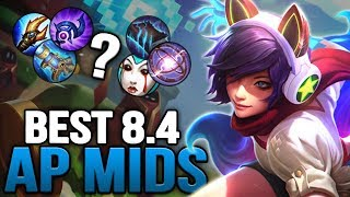 Best New AP Items and Mid Champions in 8.4 SO FAR after the reworks
