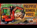 """Survival Mattin"" baut GEHEIMBUNKER #002 
