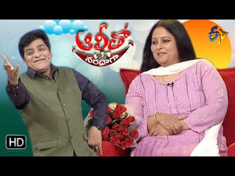 Alitho Saradaga | 27th August 2018 | Actress Jayasudha | ETV Telugu