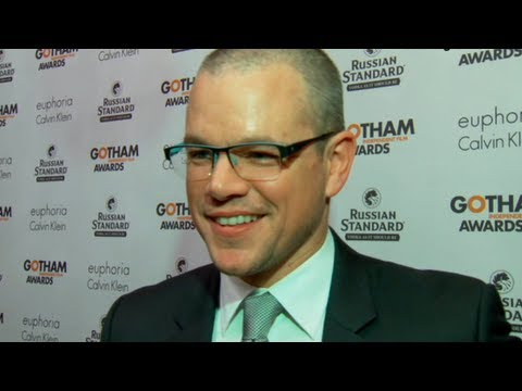 Matt Damon Shares Surreal Memory With Ben Affleck at Gotham Awards!