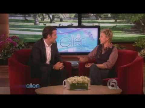 Clive Owen on Ellen DeGeneres Show - 10/08/2009 // FULL interview
