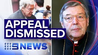 The latest details in the wake of Pell's appeal dismissal | Nine News Australia