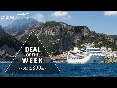8 Night Amalfi Coast with Azamara from £899pp | Planet Cruise Deals of the Week