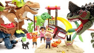 Jurassic World Fallen Kingdom Dinosaur is Angry!! Dinosaur Toys movie For Kids! Rex