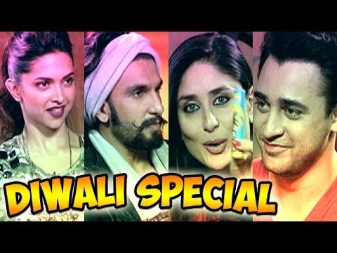 Ram leela - Deepika Padukone, Ranveer Singh with Kareena Kapoor & Imran Khan - Diwali Special