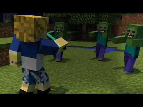 ♪burası Minecraft - A Minecraft Original Music Video   Türkçe Minecraft Şarkısı video