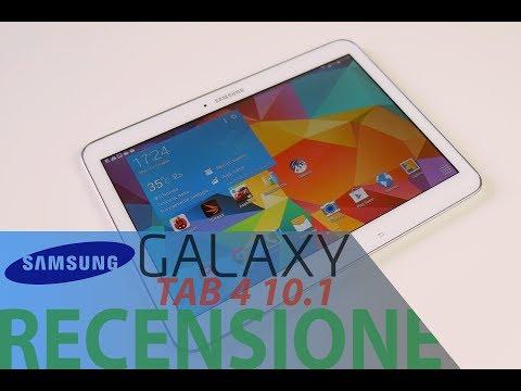 Samsung Galaxy Tab 4 10.1. recensione in italiano