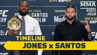 UFC 239 Timeline: Jon Jones vs. Thiago Santos - MMA Fighting