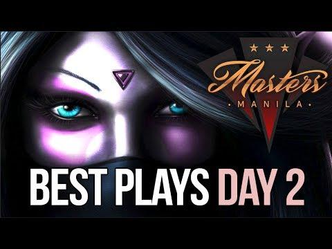 Manila Masters Dota 2 - BEST PLAYS - Day 2