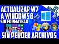 Como Actualizar de Windows 7 a Windows 8/8.1 sin formatear conservando archivos y programas
