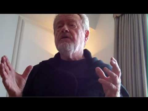 Ridley Scott Prometheus Interview - Part 1