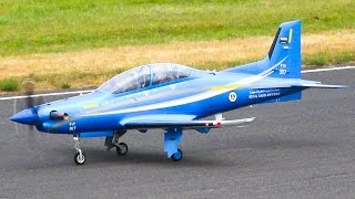 PILATUS PC 21 RC JET TURBOPROP AMAZING SCALE MODEL / Jet Power Fair 2016