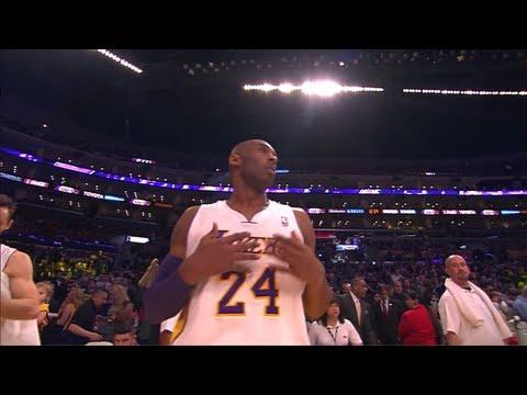 Kobe Bryant's Double-Double vs Oklahoma City Thunder - Full Highlights 27/01/2013