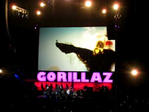 "Gorillaz perform ""Feel Good Inc."" at Madison Square Garden in New York City on October 8, 2010. *I apologize that the last few seconds of the song are cut off."