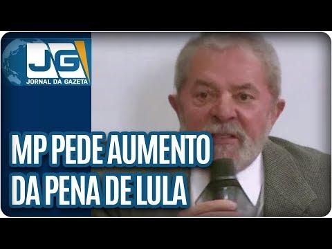 MP pede aumento da pena de Lula