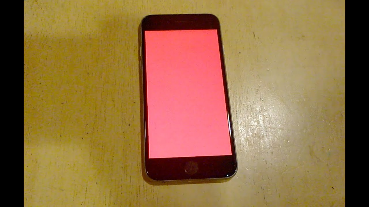 Death Screen Iphone Iphone 6 Red Screen of Death