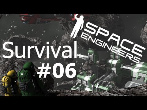 TUBY TRANSPORTOWE! - Space Engineers Survival #06