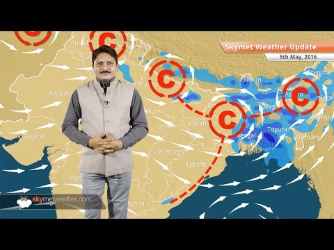 Weather Forecast for May 5: Rain likely in several parts of India, heatwave to abate
