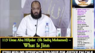 113 - Ustaz  Abu Heyder - What Is Jinn