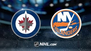 Little scores twice in Jets' 4-2 road win vs. Isles