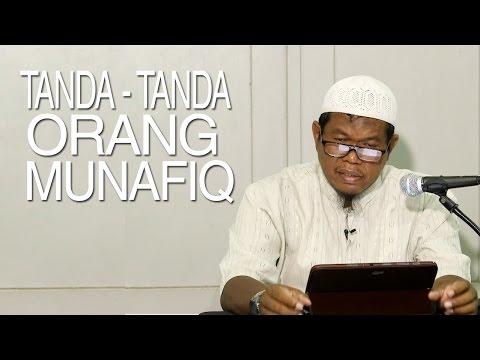 Pengajian Kitab Shahih Bukhari: Kitabul Iman - Tanda-tanda Orang Munafiq - Ustadz Abu Sa'ad, M.A.