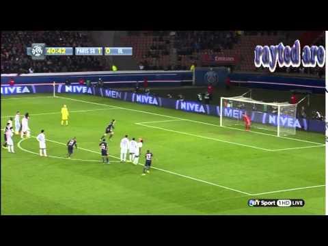 Edinson Cavani vs Lyon
