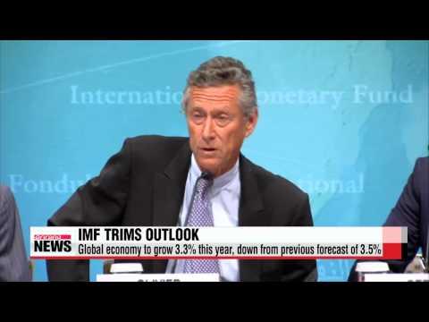 IMF lowers world economic growth outlook for 2015   IMF 2015년 세계전망치 하향