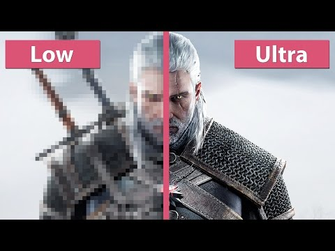 The Witcher 3: Wild Hunt – PC Low vs. Ultra Graphics Comparison Pre Day-One Patch [60fps][FullHD]