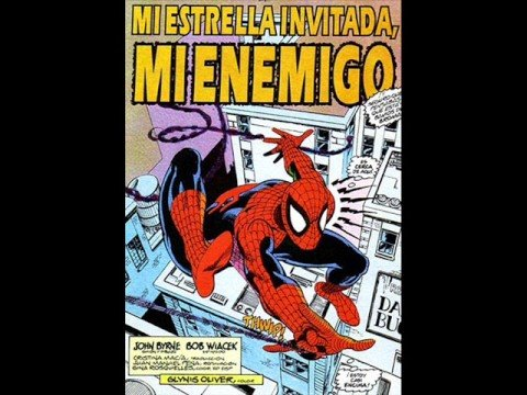 Spiderman, imagenes de caricatura y película - Frost