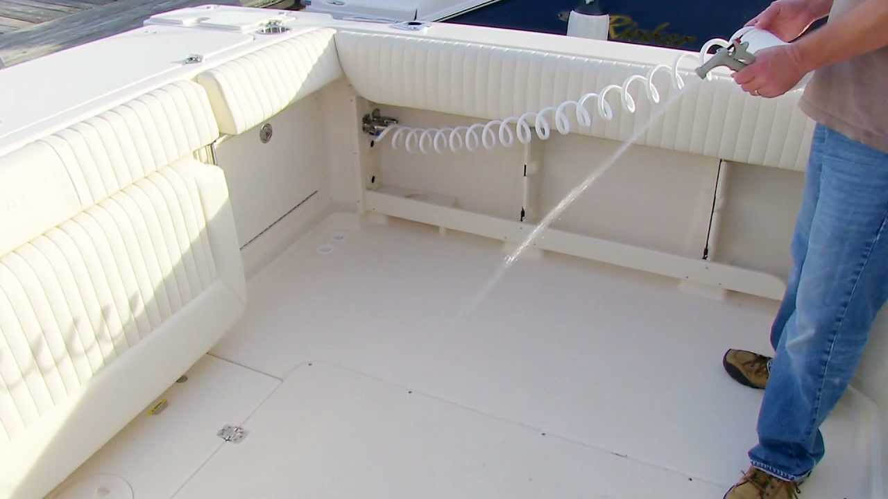Grady White Express 330 Systems Saltwater Washdown Youtube