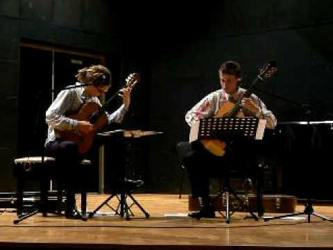 Sergio Assad Invitation played by duo shiwe