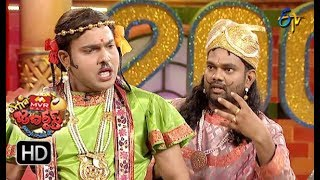 Sudigaali Sudheer Performance | Extra Jabardasth | 10th August 2018 | ETV Telugu